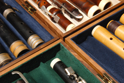 cases for baroque and classical flutes