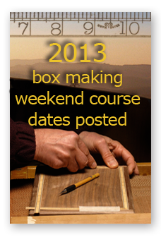 weekend box making courses
