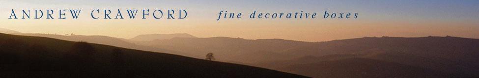 Andrew Crawford - fine decorative boxes
