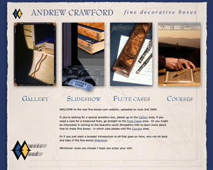 fine-boxes new website